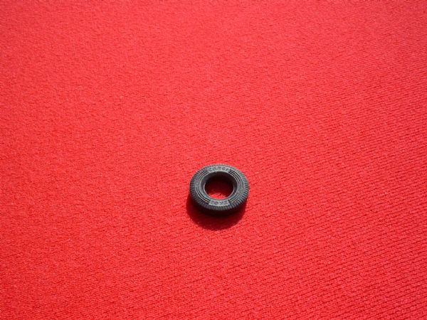 "15mm O/D Black Treaded ""CORGI TOYS"" for Standard saloons size from 1967 onwards Tyre (Each)"